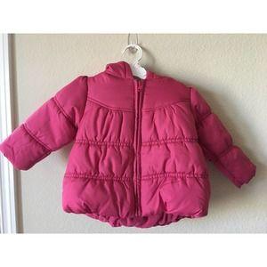 Gymboree Hoodie Puffer Zip Up Jacket Coat